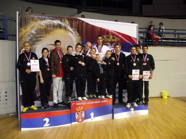 16 medalja na KUP-u Srbije