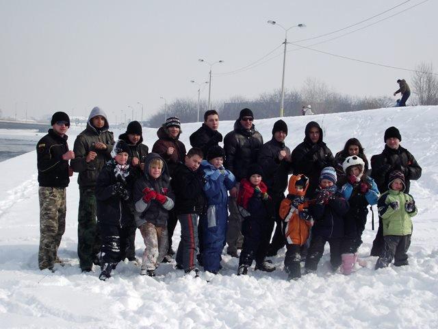 Тренинг на снегу
