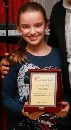 Jelena Stevanović priznanje