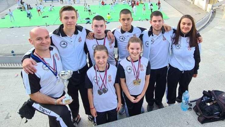 KBS Naisus 7 odličja i 2.ekipno na Prvenstvu Srbije