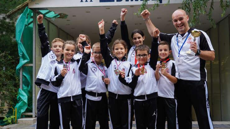 Naisus-ova ekipa najmlađih najbolja na Prvenstvu Srbije
