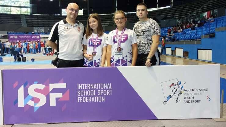 3 bronze na Svetskom školskom prvenstvu